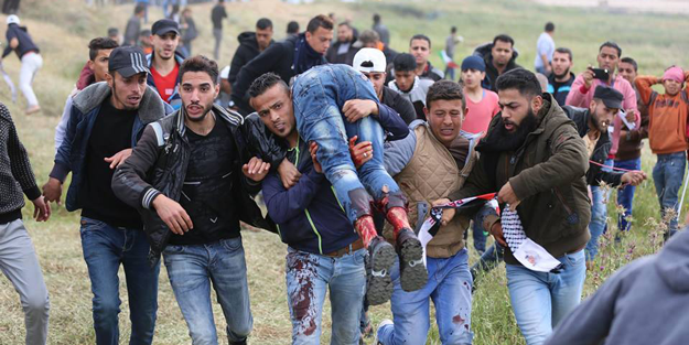 İsrail drone ile saldırdı! Bir millet işgale karşı direniyor!