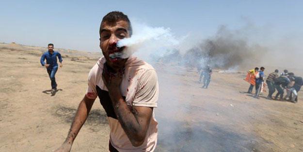 İsrail-Gazze sınırından korkunç görüntüler!