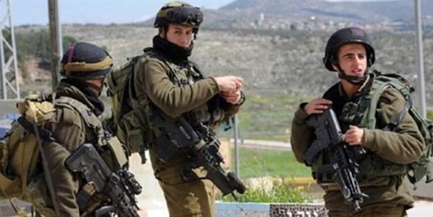 İsrail güçleri Filistinliler'e saldırdı