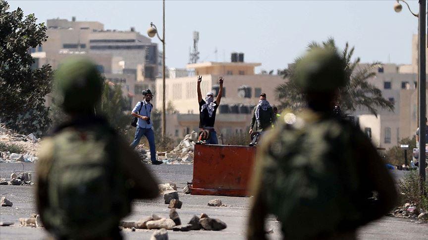 İsrail güçlerinden Filistinli tutuklulara destek gösterisi yapanlara müdahale