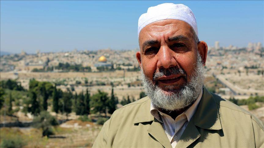 İsrail Mescid-i Aksa'nın eski müdürü Bukeyrat'ı gözaltına aldı