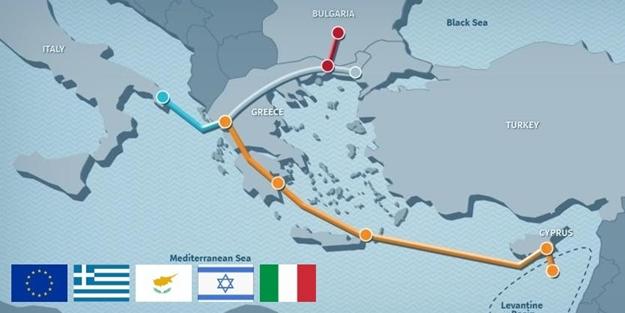'İsrail-Mısır-Güney Kıbrıs-Yunanistan ittifakı' için Erdoğan'dan bomba açıklama! 'Doğal gaz boru hattı' projesi çöp oldu!