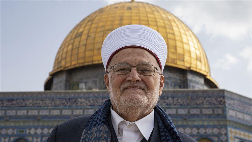 İsrail parlamentosundaki Arap vekillerden Şeyh Sabri'nin