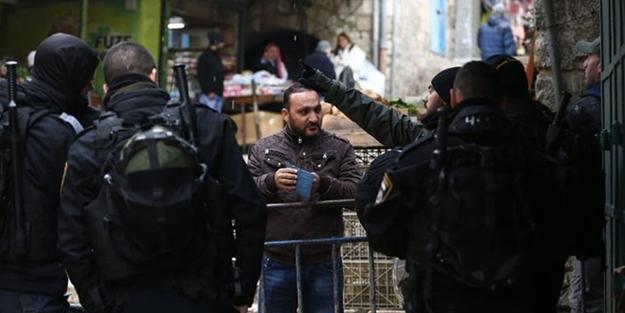 İsrail polisinden insanlık dışı gözaltı
