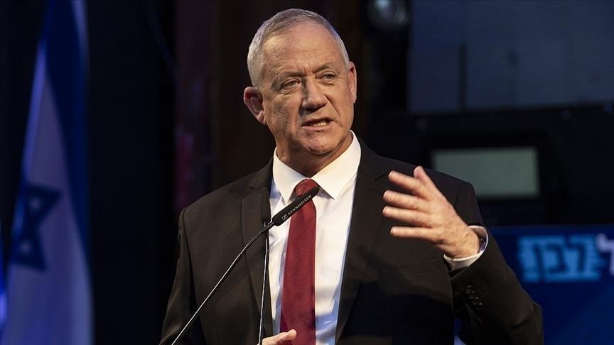 İsrail Savunma Bakanı Gantz: Abbas inmesi zor olan bir ağaca tırmandı