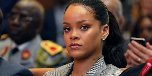 İsrail terörünü itiraf ediyorlar! Rihanna'dan Filistin'e destek