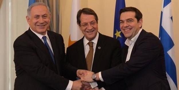 İsrail, Yunanistan ve Güney Kıbrıs harekete geçti: Türkiye'yi...