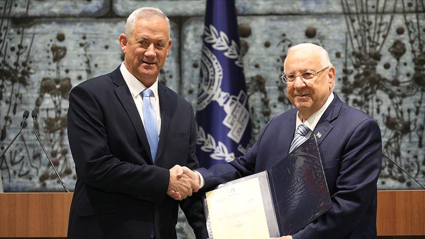 İsrail'de hükümeti kurma görevi Benyy Gantz'a verildi