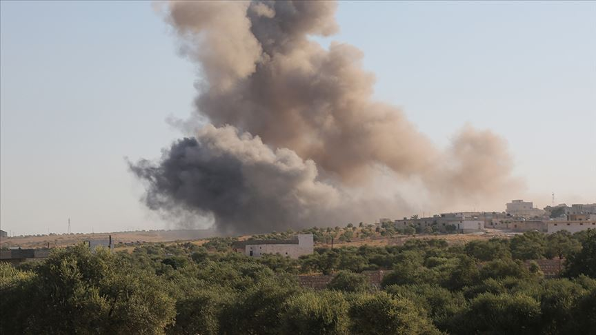 İsrail'den Suriye'ye hava saldırısı yapıldı