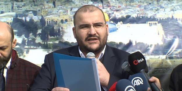 İsrail'in saldırılarına protesto: Amaç Mescid-i Aksa'nın yerine Süleyman Mabedi inşa etmek!