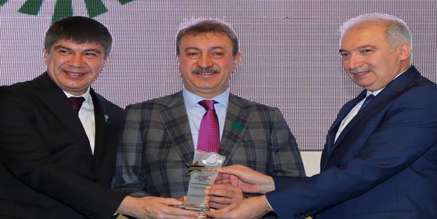 İSTAÇ'a en çevreci tesis ödülü
