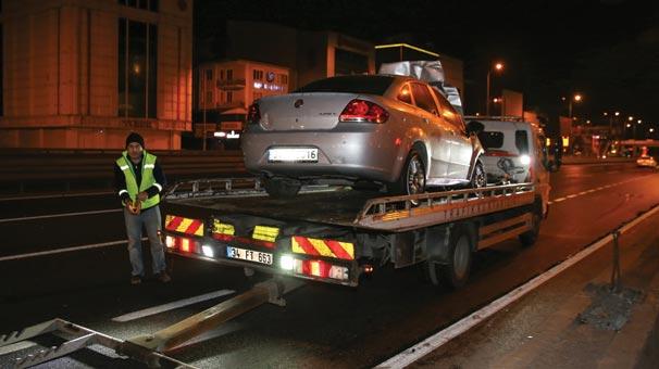 İstanbul Avcılar'da zincirleme trafik kazası!