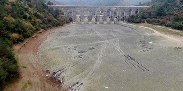 İstanbul barajları alarm veriyor! Doluluk oranları dibi gördü