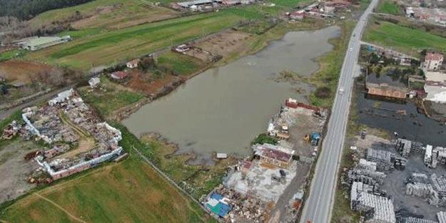 Başakşehir'de satılık göl! Bakın sahibi kaç para istiyor