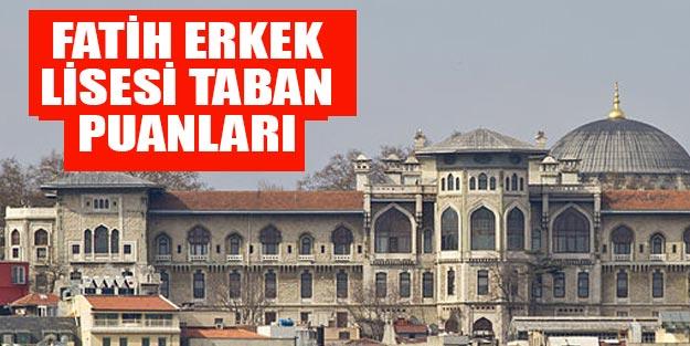 İstanbul Erkek Lisesi Fatih taban puanları 2019