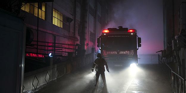 İstanbul güne fabrika yangınıyla uyandı