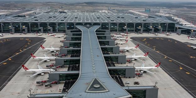 İstanbul Havalimanı'na