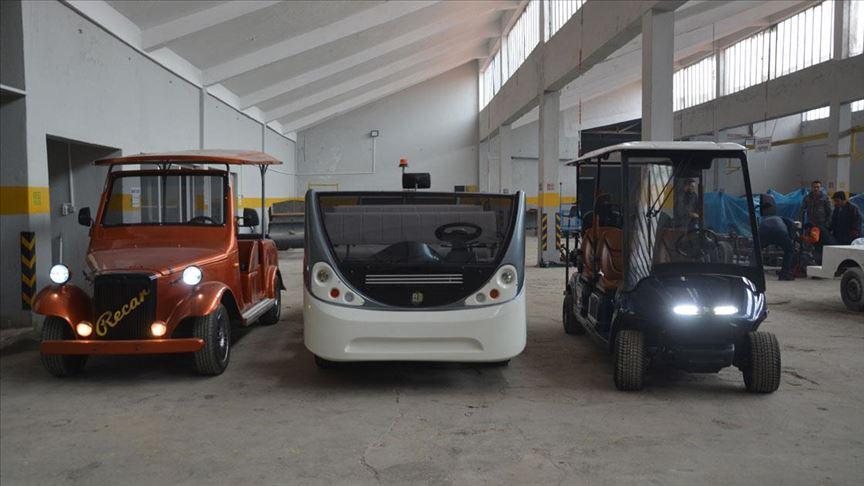 İstanbul Havalimanı'nın golf araçları Denizli'den