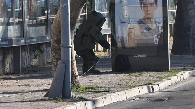 İstanbul Kabataş'ta bomba alarmı