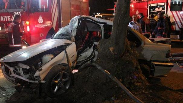 İstanbul Kadıköy'de trafik kazası: 1 ölü, 1 yaralı