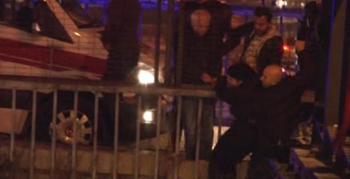 İstanbul Kağıthane'de intihar girişimi