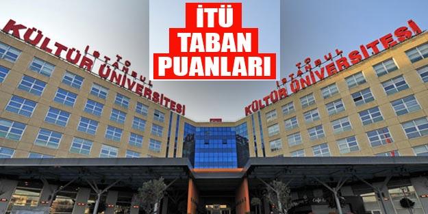 İstanbul Kültür Üniversitesi taban puanları 2019