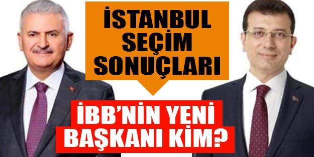 İstanbul seçim sonuçları 23 Haziran   Binali Yıldırım oy oranı   Ekrem İmamoğlu oy oranı   Canlı seçim sonuçları