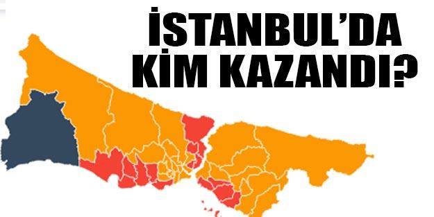 İstanbul seçim sonuçları İstanbul'u kim kazandı? Binali Yıldırım mı Ekrem İmamoğlu mu?
