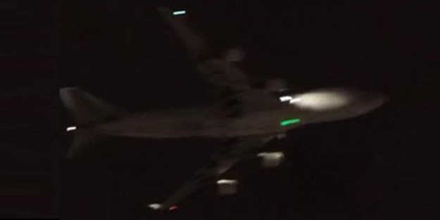 İstanbul semalarında korkutan görüntü! Uçağa lazer tacizi yapıldı