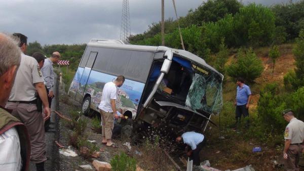 İstanbul Şile yolu'nda trafik kazası: 1 ölü 4 yaralı