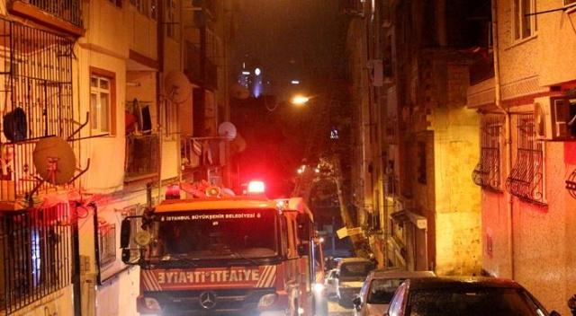 İstanbul Şişli'de yangın korkusu