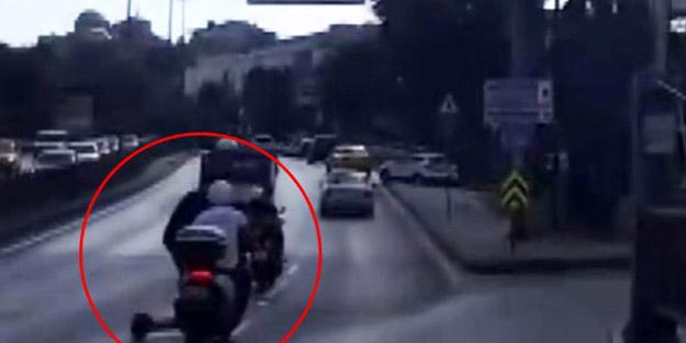 İstanbul sokakları onlarla doldu! Megakentin en işlek güzergahında facianın eşiğinden dönüldü
