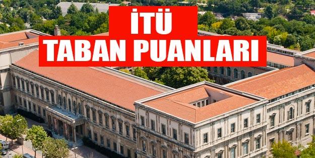 İstanbul Teknik Üniversitesi taban puanları 2019, İTÜ sıralama 2019