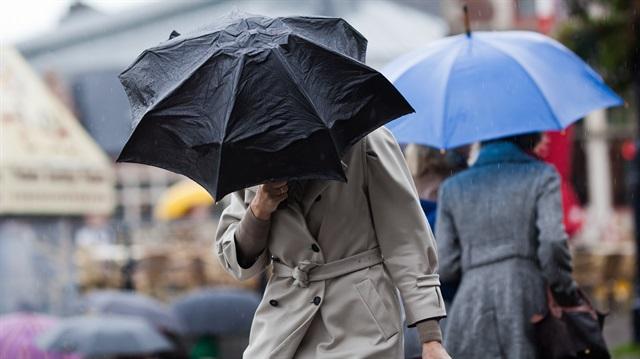 İstanbul ve 11 ile yağmur uyarısı