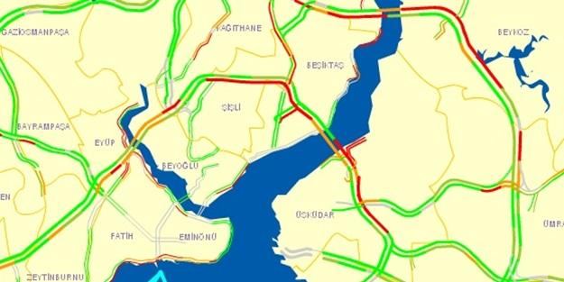 İstanbul yol durumu 4 Ağustos 2015