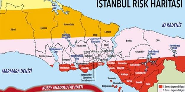 İstanbul zemini sağlam ilçeler 2019 İstanbul'da depremde güvenli semtler hangileri
