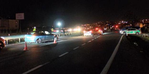 İstanbul'a araç giriş-çıkışı durduruldu