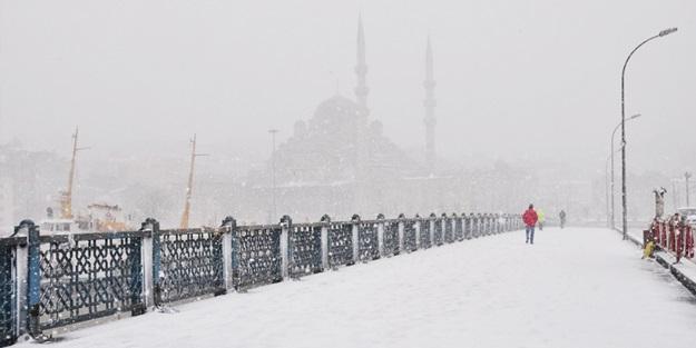 İstanbul'a ne zaman kar yağacak? Meteoroloji açıkladı