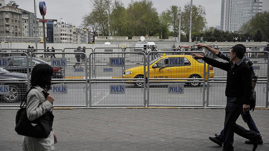 İstanbul'da 1 Mayıs önlemleri başladı
