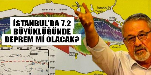 İstanbul'da 7.2 büyüklüğünde deprem mi olacak İstanbul deprem son dakika!