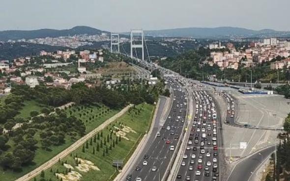 İSTANBUL'DA BAZI YOLLAR TRAFİĞE KAPALI OLACAK