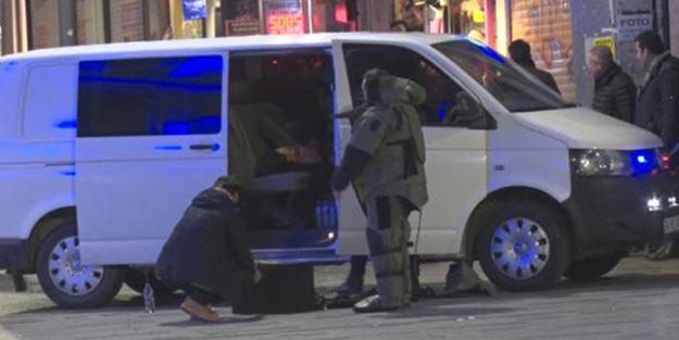 İstanbul'da bomba paniği! Polis alarma geçti