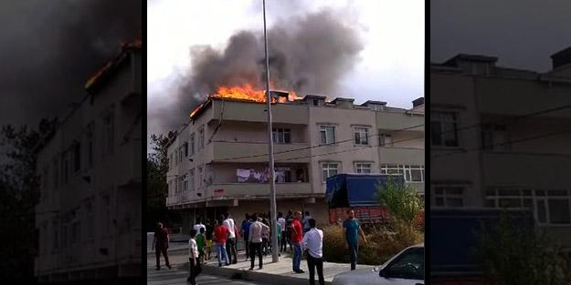 İstanbul'da çatıda mangal keyfi faciaya neden oluyordu