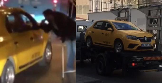 İstanbul'da engelli vatandaşı aracına almayan taksiciye jet ceza kesildi