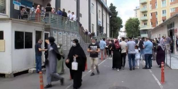 İstanbul'da hastanelerde aşı kuyruğu oluştu