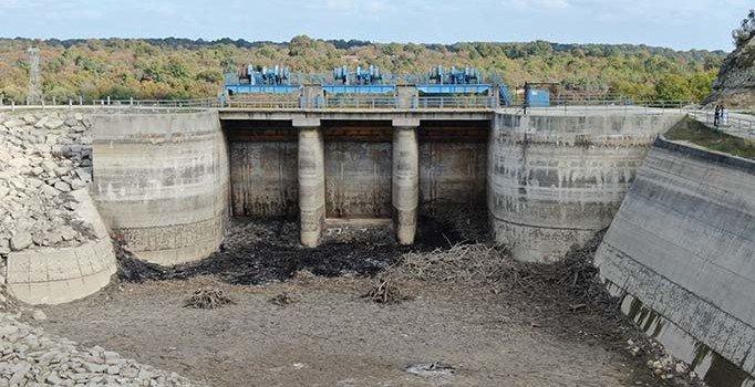 İstanbul'da iki baraj su yokluğu nedeniyle kullanım dışı kaldı