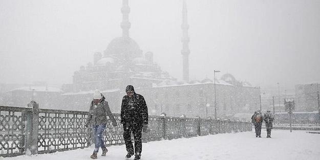 İstanbul'da kar ne zaman yağacak? Kar ne zaman bekleniyor?
