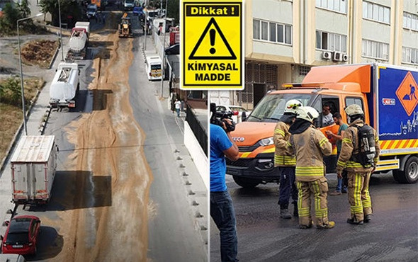 İstanbul'da 'kimyasal madde' paniği