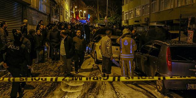 İstanbul'da korku dolu anlar! Çok sayıda araç ateşe verildi