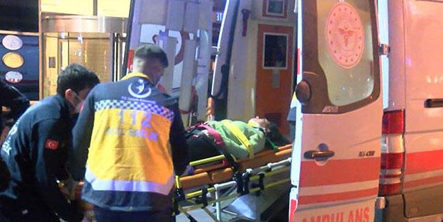 İstanbul'da otelin penceresinden düşen kadın yaralandı